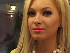 Blonde Glam Tease Long Nails tube porn video