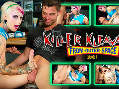 Jessie Lee & Seth Gamble in Killer Kleavage From Outer Space - Episode 1 Scene tube porn video