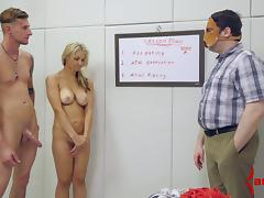 Sarah Vandella is a sweet anal submissive for two guys tube porn video