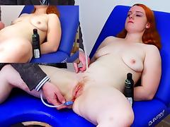 Miss Fi's Huge Enema with The Hard Colon Snake tube porn video