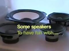 hawt speakers and subwoofers make me cum another time tube porn video