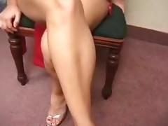 A pregnant woman gets fucked by two cocks tube porn video