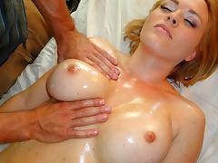 Krissy Lynn in Busty Blonde Bitch Massage - PornPros Video tube porn video