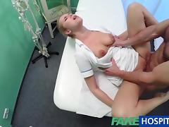 FakeHospital Sexy nurse creampied by doctor tube porn video