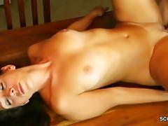 Mom Caught Young Step-Son Jerk and Fuck tube porn video