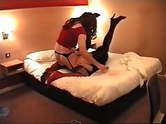 Mature crossdresser fucking tube porn video