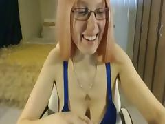 Hawt mother I'd like to fuck playing with her self on livecam tube porn video