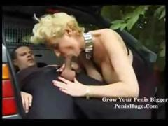 Fucking the old bag in the trunk of my car tube porn video