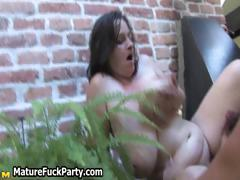 Horny mature group sex party tube porn video