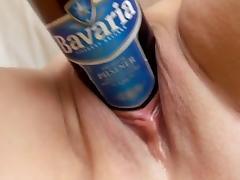 bierfles tube porn video