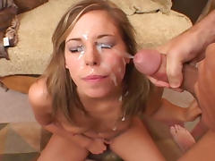 Alexa Benson gets her face drenched in cum tube porn video