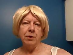 Naughty Gigi enjoys a bulb enema tube porn video