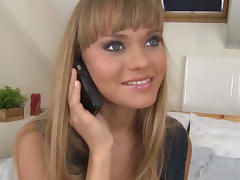 Shy Russian ready for paying the rent tube porn video