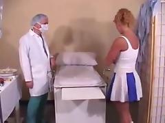 Cheerleader exam tube porn video