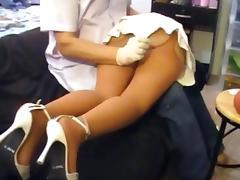 Rectal treatment tube porn video