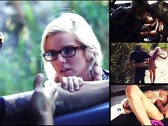Halle Von Must Endure Domination, Outdoor Rough Sex & Bondage for a Ride - HelplessTeens tube porn video
