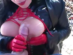 Compilation Of Busty Goth Chick Cumshots tube porn video