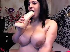 BBW russian webcam model Mariamay tube porn video