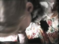 Teen orgasm in satin gown and satin gloves - remake vid tube porn video