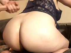 Cum on Wifes Ass tube porn video