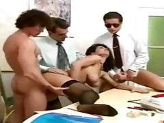 Angelica bella vintage french gangbang tube porn video