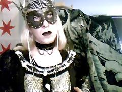 Goth queen crossdresser tube porn video