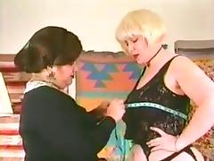 Classic bbw lesbians tube porn video