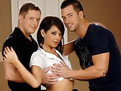 Coco Velvett & Tommy D & Rod Daily in Bedroom Threesome Fantasy XXX Video tube porn video