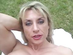 Female body builder with big clit tube porn video