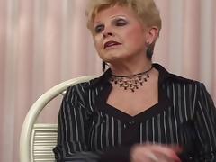 Sapphic grannies invite a college girl for a salacious threesome tube porn video
