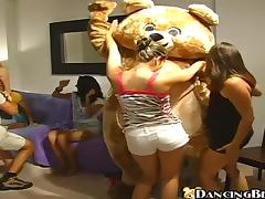 Birthday girl gets fucked at Dancing Bear party tube porn video