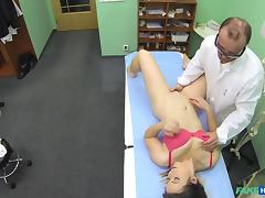 Bibi in Horny sexy patients six years sex abstinence broken by dirty doctors cock - FakeHospital tube porn video