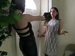 stocking masked robber tube porn video