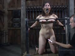 crazy device bondage and a dominant master tube porn video