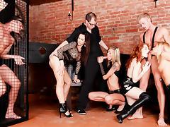 Barra Brass & Denisa Heaven in 5 Incredible Orgies #02, Scene #01 - DoghouseDigital tube porn video
