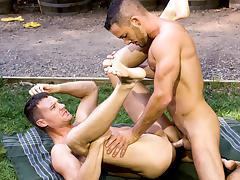 Big Wood XXX Video: Aden Jaric, Steven Daigle tube porn video