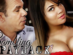 Cassidy Banks in Gambling Payback, Scene #01 - FantasyMassage tube porn video