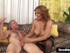 Big titted MILF Nikki rides a fat dick tube porn video