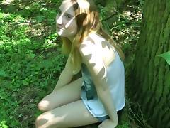 Hot german amateur blonde outdoor creampie tube porn video