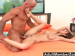 AdultMemberZone - Awesome Shy Love is excited like crazy tube porn video