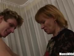 Cock Hungry Blonde Mama Fucked By Young Teen tube porn video