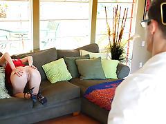 Blair Summers in Creampied By Her Boyfriends Dad - TeamSkeet tube porn video
