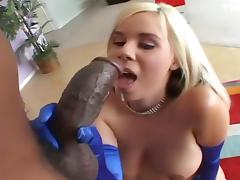 Blond Hotty Makes Cholocate Cum tube porn video