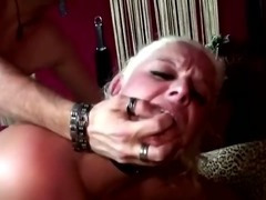 Blonde reality bitch takes it like a pro up her asshole tube porn video