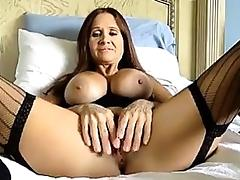 Hot mature playing solo tube porn video