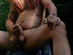 Cruising...the married man meets strangerin a forest tube porn video