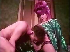 Vintage tart trans and her man tube porn video
