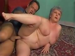 BBW ANAL GRANNY WITH GREY HAIR (VINTAGE) tube porn video