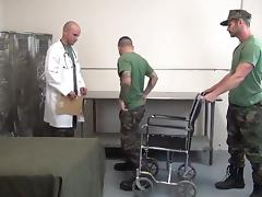 Army guys fornicating after a tough day tube porn video