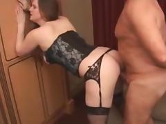 Girl Sucks Huge Mature Senior Grandpa Cock tube porn video